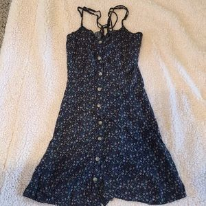 Button up American eagle floral dress